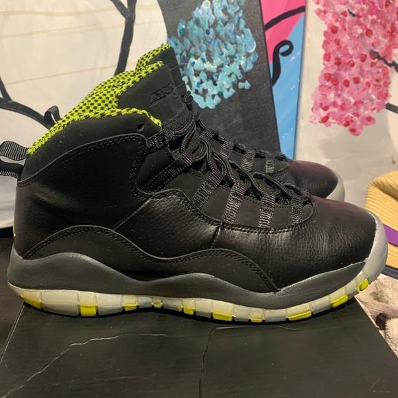 Jordan Shoes   Air Retro 10 Venom Size